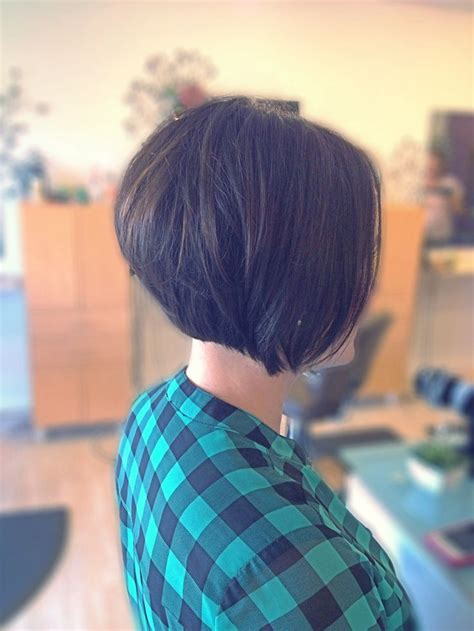 one side stack sassy bob bllack hair stacked bob bob short bob work i have created