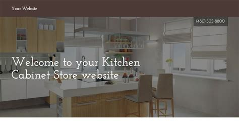 kitchen cabinet websites exle 14 kitchen cabinet store website template godaddy