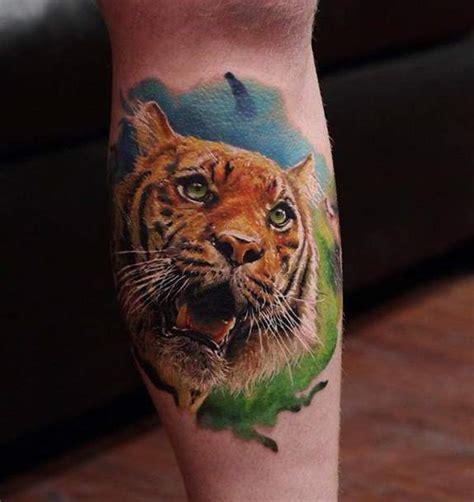 30+ Aggressive Tiger Face Tattoo Made Ever – 11Tattoos Realistic Tiger Makeup