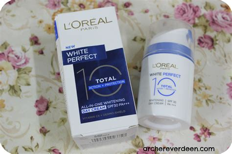 Loreal Whitening l oreal white 10 total whitening day