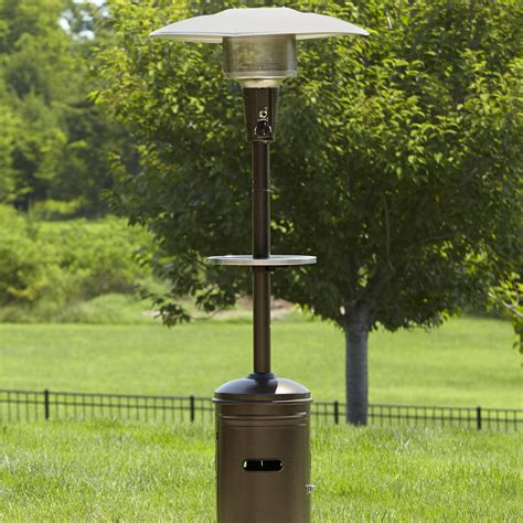 Garden Oasis 40 000 Btu Patio Heater With Stainless Steel Garden Oasis Patio Heater