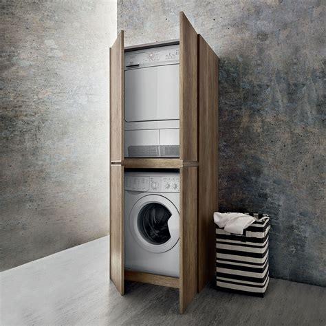 Waschmaschine Trockner Schrank