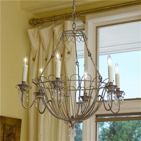 French Country Persian White Chandelier Acrylics Country Chandelier Shades