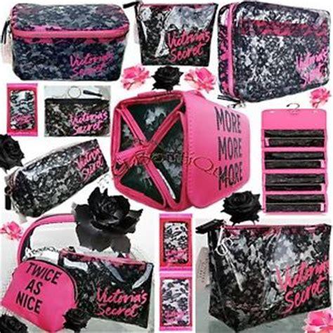 Secret Travel Bag Pink 1 1 s secret black lace pink cosmetic travel bag phone wallet u ebay