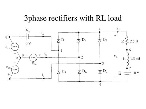 diodes with rc and rl loads ppt diodes with rl loads freewheeling powerpoint presentation id 754286