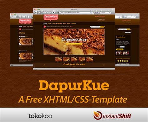 template xhtml free dapurkue free xhtml css e commerce template for your