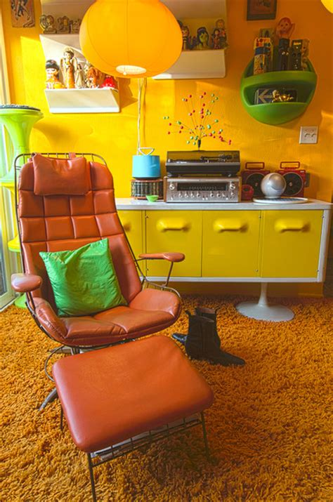 70s living room la 70s eclectic living room los angeles by alex