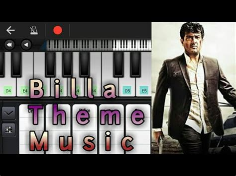 theme music ajith billa theme music notes chords yuvan shankar raja