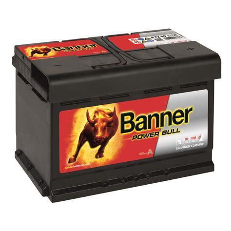 Auto Batterien by Banner Power Bull Autobatterie 44ah 12v P4409 Kfz Pkw