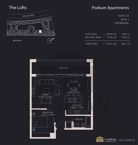 lofts podium floor plans