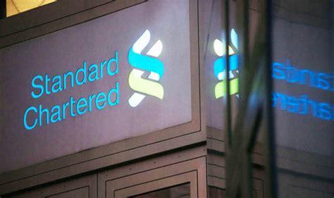 standard chartered bank frankfurt standard chartered shares fell 6 per cent city