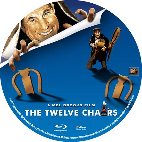the twelve chairs custom dvd labels the twelve chairs
