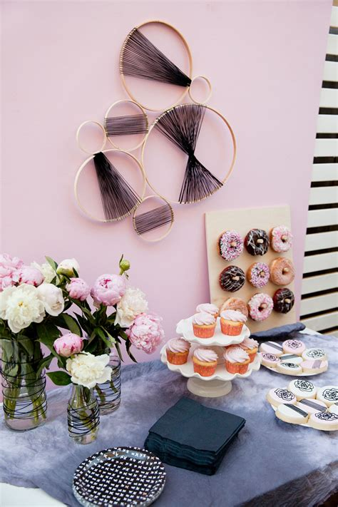 Pink And Black Baby Shower Themes by Black And Pink Baby Shower Tell And