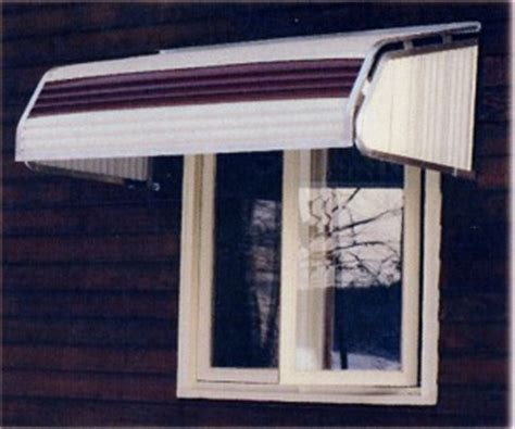 Door Awning Canada by Futureguard Series 4500 Aluminum Window Awnings In Canada