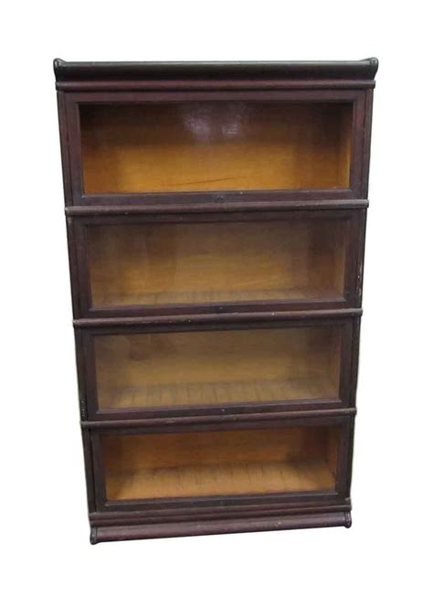 four shelf barrister bookcase olde things