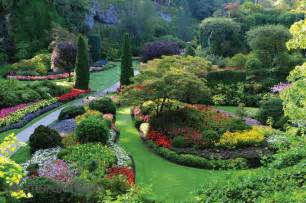 Made To Measure Wall Murals the butchart gardens victoria british columbia canada