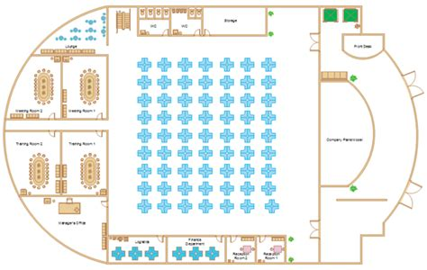 office layout template free office floor plan software