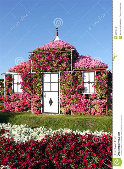 casa di fiore house covered with flowers stock image image 37745775