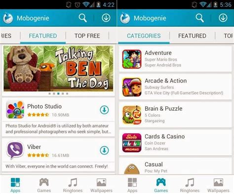 free apk market mobogenie android apps market apk free smarter free