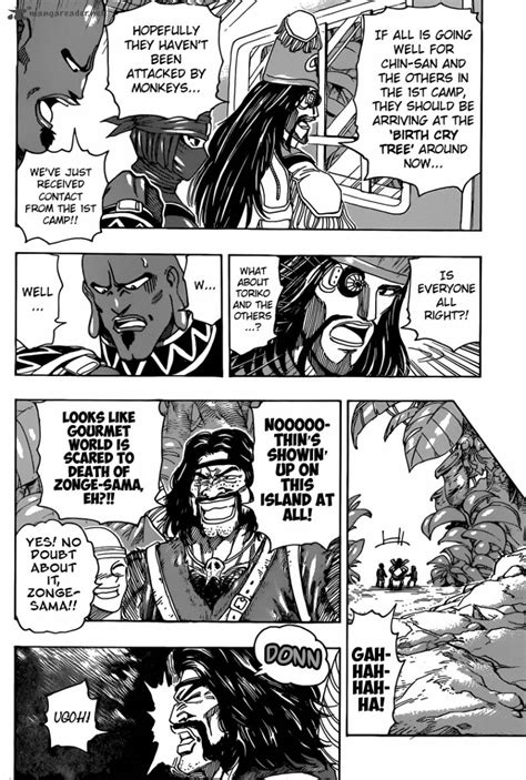 Read Free Toriko Chapter 321 The Reunion Selfie Scans