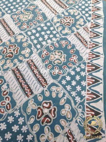 Batik Tulis Pewarnaan Alam Batik Traditional Indonesia jual kain batik tulis warna alam indigo motif ceplokan