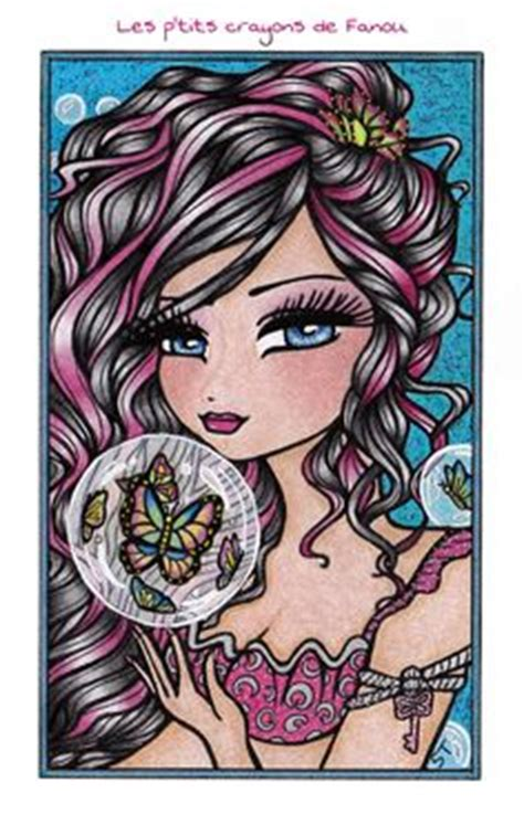 enchanted faces mermaids fairies enchanted faces hannah lynn hannah lynn mermaids coloring and fairies