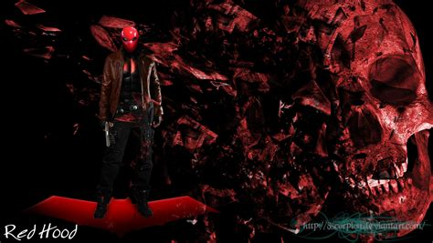 batman red hood wallpaper red hood batman wallpaper by 8scorpion on deviantart