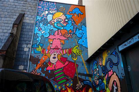 streetart  zentrum vom antwerpen urbanpresents