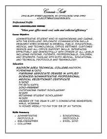 Exle Of A Resume Profile by Professional Profile Resume