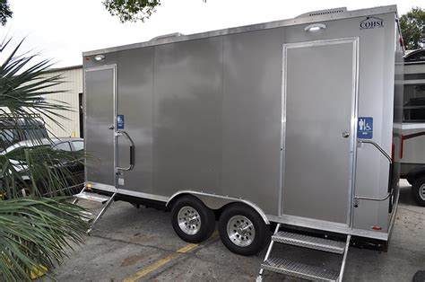 Trailer Bathroom Rental by Elite Events Rentals Restroom Trailer Rentals Elite