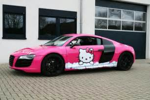 pink audi r8 v10 hello you autoevolution
