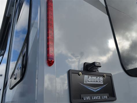 brake light license plate frame lance 2185 travel trailer got a family how about