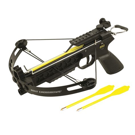 Cross Bow bolt crossbows the pitbull pistol grip compound crossbow