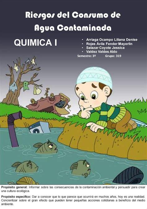 la contaminacion del agua  jessica de mondragon issuu