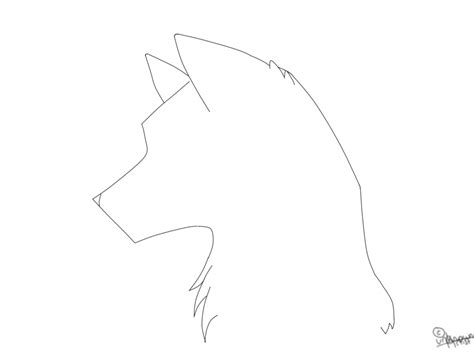 free headshot template search results for outline of a wolf calendar 2015