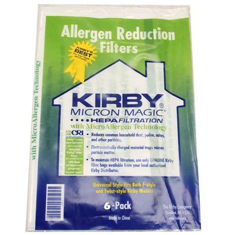 Kirby Vaccum Bags kirby vacuum universal fit allergen reduction vacuum bags 6 pack genuine