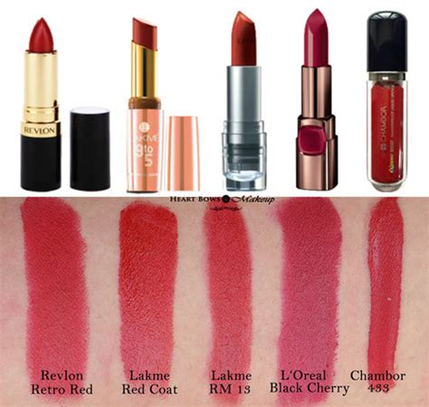best drugstore red lipstick for indian olive skin tone youtube 10 best matte red lipsticks in india review swatches