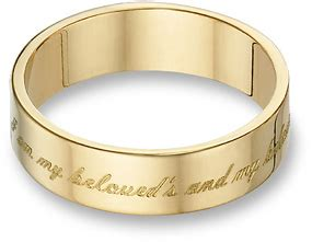 Bible Verses Engraved Wedding Band by Encircled In Scripture Engraved Bible Verse Rings