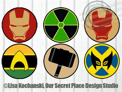 printable marvel stickers 4 printable superhero logo stickers superhero symbols