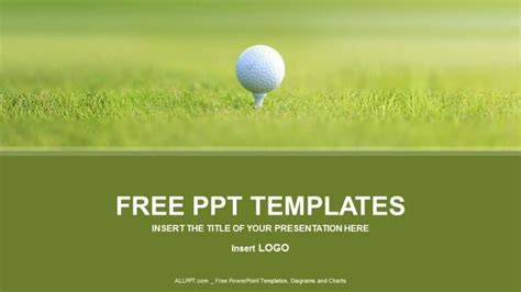 Powerpoint Templates Free Golf Carisoprodolpharm Com Golf Powerpoint Template