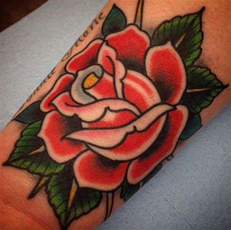 american traditional rose tattoos 71 best flower images on ideas