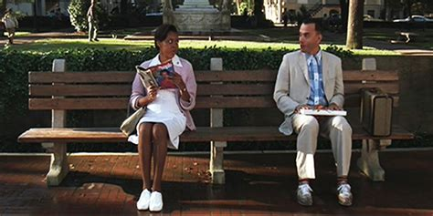 park bench movie forrest gump 1994 movie forrest park bench savannah