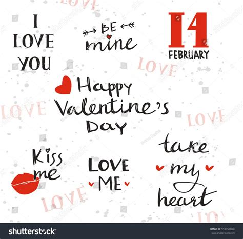 valentines phrases for cards phrases phrases inographic