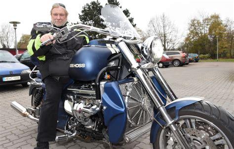 Boss Hoss Motorrad Ps boss hoss leher f 228 hrt motorrad mit v 8 motor