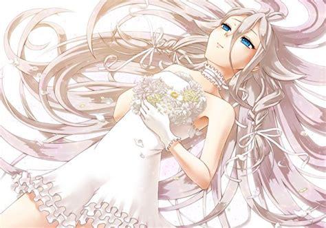 imagenes anime niñas fondos de pantalla novia rubio nia vestido anime chicas