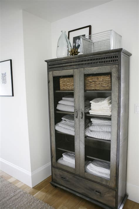 Modern Linen Cabinet by Gorgeous Bathroom Linen Cabinet From A Modern Farmhouse