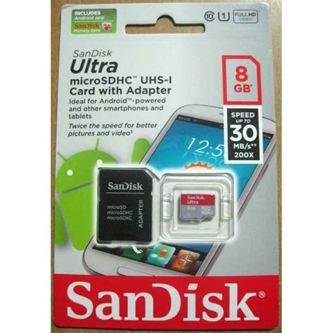 Sale Sandisk Ultra Microsdhc Card Uhs I Class 10 48 Mb S 16gb sandisk 8gb ultra microsdhc uhs i card class 10 with sd adapter speed up to 30mb s 200x ideal