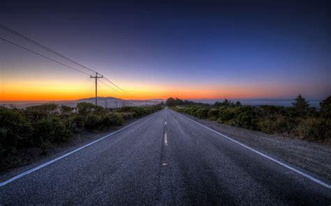 Landscape Road Pictures Sunset Road Landscape G Wallpaper 1920x1200 148889