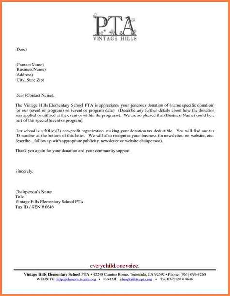 Tax Donation Letter Non Profit 5 501c3 Tax Deductible Donation Letter Sales Intro Letter