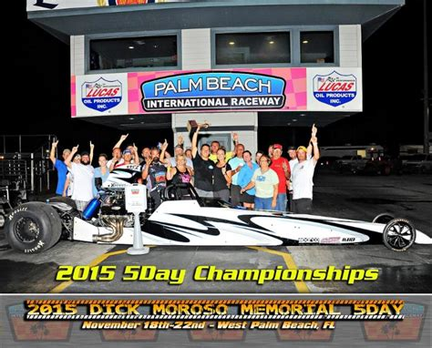palm racing results fastfriday moroso 5 day bracket chionship results palm happening
